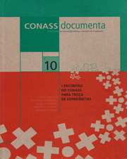CADERNO CONASS DOCUMENTA N. 10