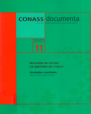CADERNO CONASS DOCUMENTA N. 11
