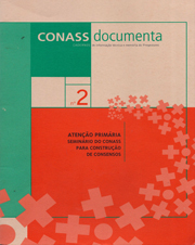 CADERNO CONASS DOCUMENTA N. 01