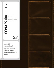 CADERNO CONASS DOCUMENTA N. 27