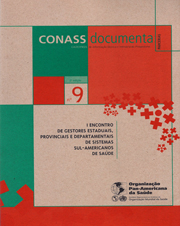 CADERNO CONASS DOCUMENTA N. 09