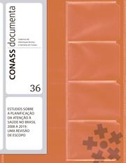 CD 36 – Estudos sobre a Planificação da Atenção à Saúde no Brasil