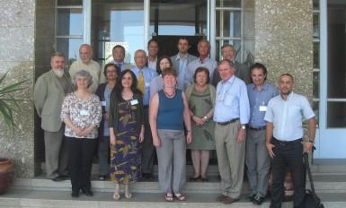 Participantes do Intercâmbio de Experiências Internacionais Luso-Francófonas, em Lisboa, do qual participam também representantes do Ministério da Saúde do Quebec, Bélgica e Marrocos