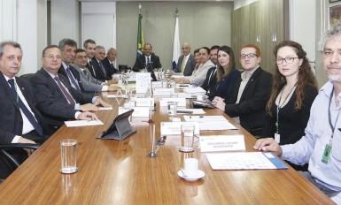 udiência do CONASS com o ministro da Saúde
