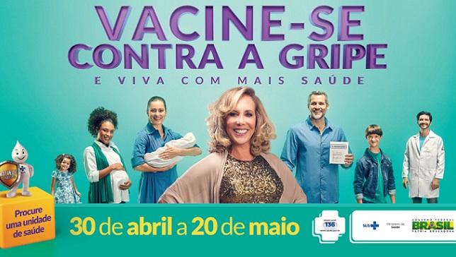 Campanha de mobilização contra a gripe começa sábado
