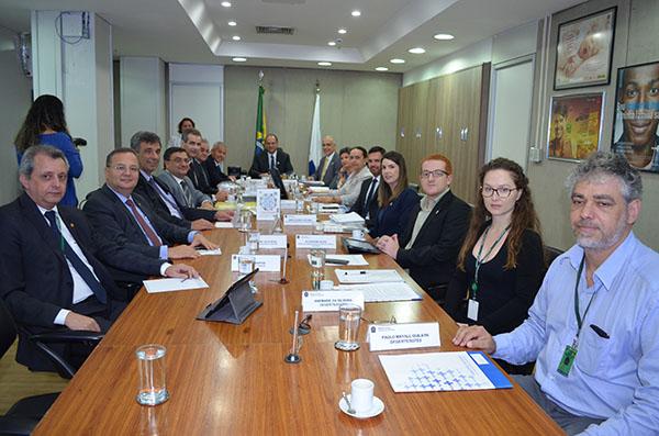 Orçamento e gestão são temas de audiência do CONASS com o ministro da Saúde