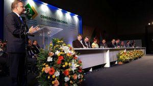Fábio Vilas Boas, vice-presidente do CONASS na Região Nordeste, na abertura do encontro