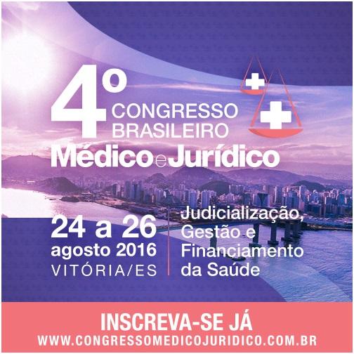 Secretário fala sobre gestão compartilhada, em Congresso Médico Jurídico