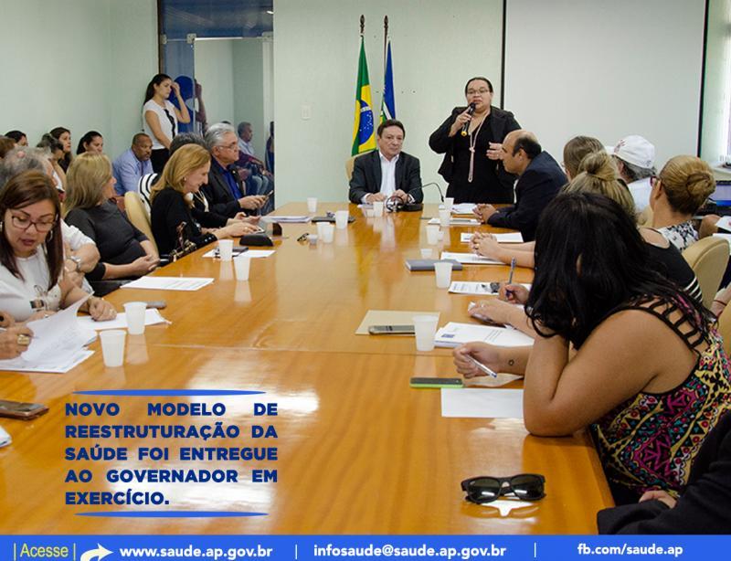 Projeto de Reestruturação Gerencial da Secretaria de Estado da Saúde do Amapá