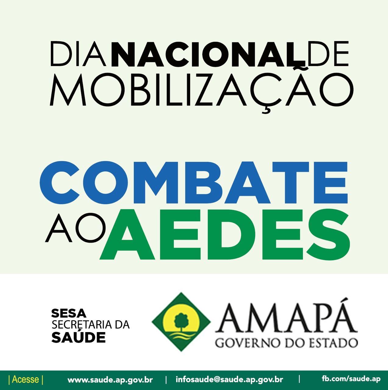 Mobilização no Amapá vai reforçar ação de combate ao aedes aegypti