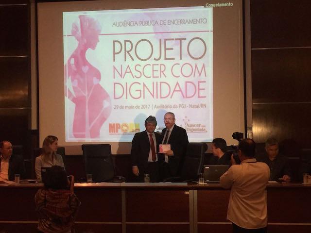 Sesap e MP comemoram resultados do projeto Nascer com Dignidade