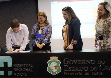 Hospital Regional Norte, em Sobral, é reconhecido por assistência segura ao paciente