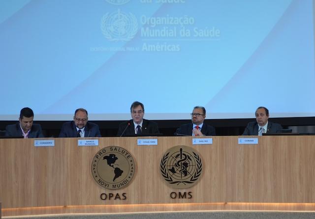 Opas/OMS debate a Atenção Primária à Saúde como estratégia para o SUS