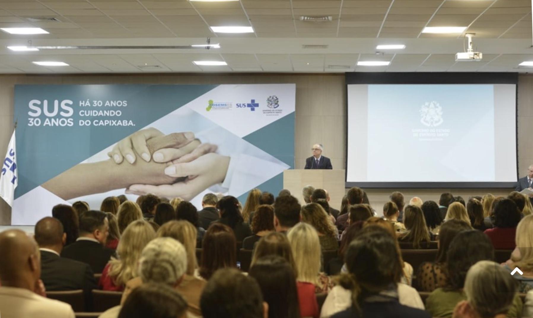 Secretaria de Estado da Saúde comemora 30 anos do SUS