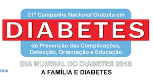 21ª Campanha Nacional Gratuita em Diabetes de Prevenção das Complicações, Detecção, Orientação e Educação