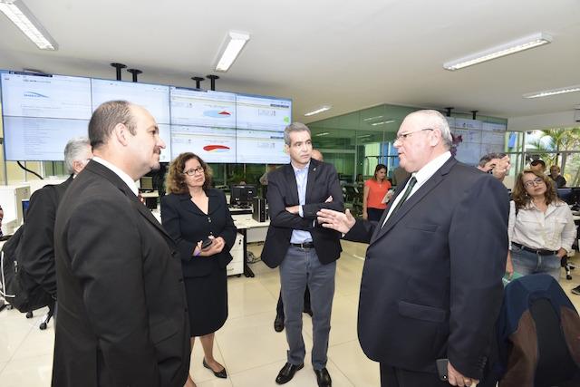 Ministro interino da Saúde visita Conecta SUS