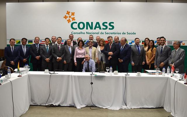 Gestores estaduais de saúde se reúnem na primeira assembleia do Conass em 2019