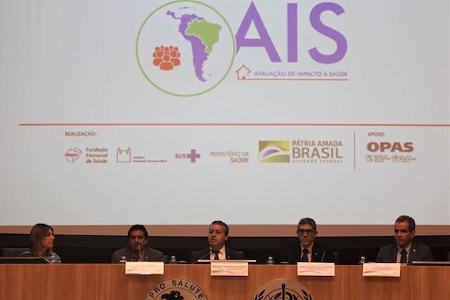 Funasa promove seminário de Avaliação de Impactos à Saúde