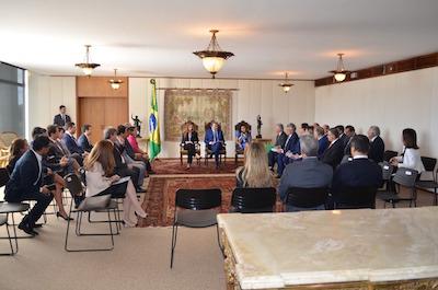 Acompanhado de governadores, presidente do Conass leva ao STF posicionamento do Conselho sobre judicialização da saúde